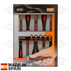 Bahco 5 Pce Insulated Screwdriver Set_spain
