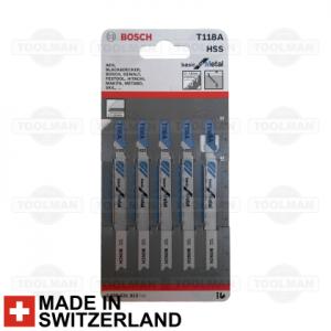 Bosch Jigsaw Blade T118A_switzerland