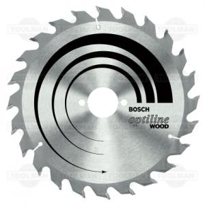 Bosch Optiline Saw Blade Small Teeth (24)
