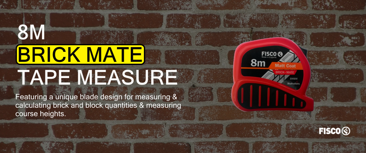 Fisco Brick Mate Tape Measure