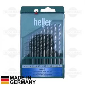 Heller 13pce HSS-G Drill Bit Set_germany