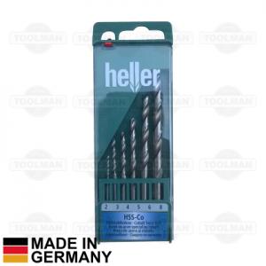 Heller 6pce HSS-Co Drill Bit Set_germany