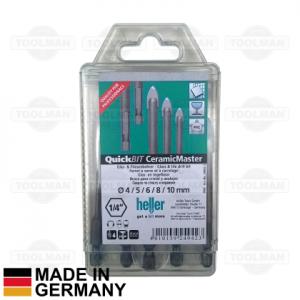 Heller QuickBit CeramicMaster Glass & Tile Drill Bit Set_germany