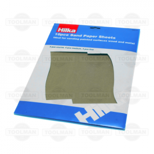Hilka Assorted Sand Paper Pack