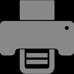 Icon - Fax - Light