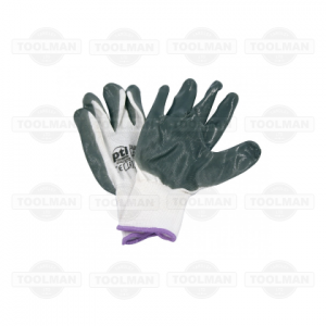 PTI Grey Nitrile Gloves