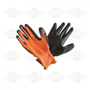 PTI Nitrile Ribbed Gloves