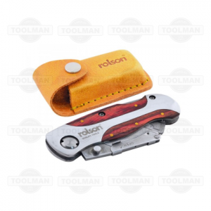 Rolson Lock Knife With Pouch