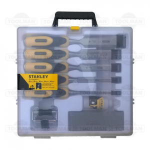 Stanley 5pce DynaGrip Chisel Set