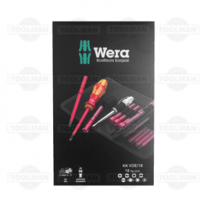 Wera 18 Pce VDE Kraftform Kompakt Screwdriver Set