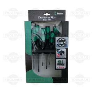 Wera 6pce Kraftform Plus Torx Screwdriver Set