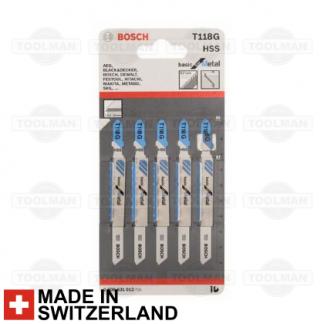 Heller T144D HCS Wood Jigsaw Blades High Quality German Cutting Tools 5 Pack